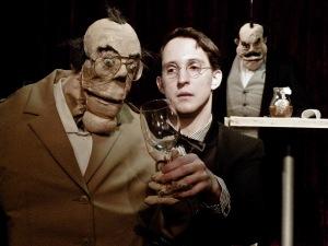 """""""Der Herr Karl"""" mit Nikolaus Habjan (Foto: Schuberttheater)"""
