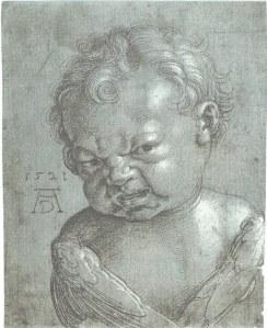 Albrecht Dürer, Weinender Cherubin (1521)
