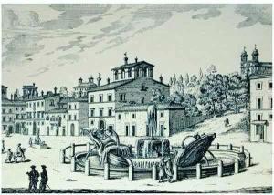 Barcaccia-Brunnen