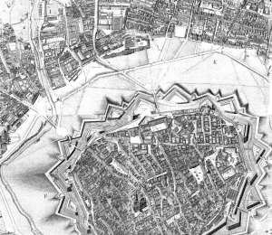 Joseph Daniel von Huber, Perspektivdarstellung von Wien und den Vorstädten bis zum Linienwall 1769-1773 (1778)