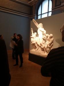 Die Direktorin und Kuratorin der Ausstellung Martina Fleischer
