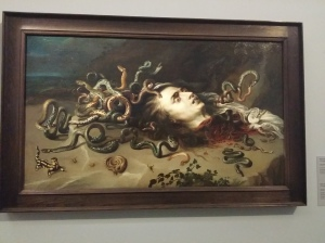 Peter Paul Rubens, Haupt der Medusa (KHM, Wien)
