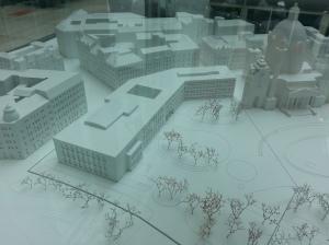Die Fläche des Wien Museums wird fast verdoppelt - und ein gar nicht so kleiner Teil des Parks verbaut
