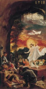 A.  Altdorfer, Auferstehung Christi