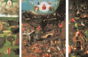 Hieronymus Bosch, Weltgerichtstriptychon (Gemäldegalerie der Akademie der bildenden Künste Wien)
