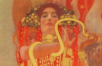 Gustav Klimt, Medizin (Ausschnitt, 1900/07, ©Belvedere)