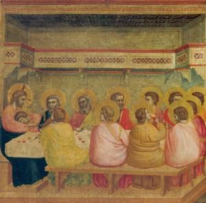 Giotto di Bondone, Das Letzte Abendmahl (München, Alte Pinakothek)