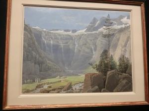 Matthäus Loder, Wasserfälle im Tischlerkar bei Gstein (1827)
