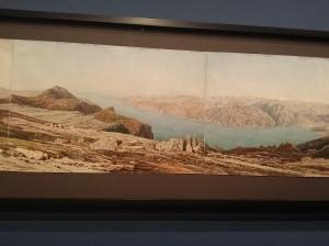 Thomas Ender, Panorama des Monte Baldo mit dem Gardasee (1847)