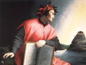 Agnolo Bronzino, Dante rivolto verso il Purgatorio (1530, National Gallery of Art, Washington)