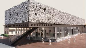 Fondazione Prada, Mailand, Modell (Rem Koolhaas)
