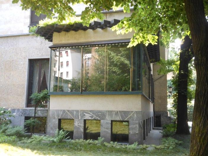Villa Necchi, Wintergarten
