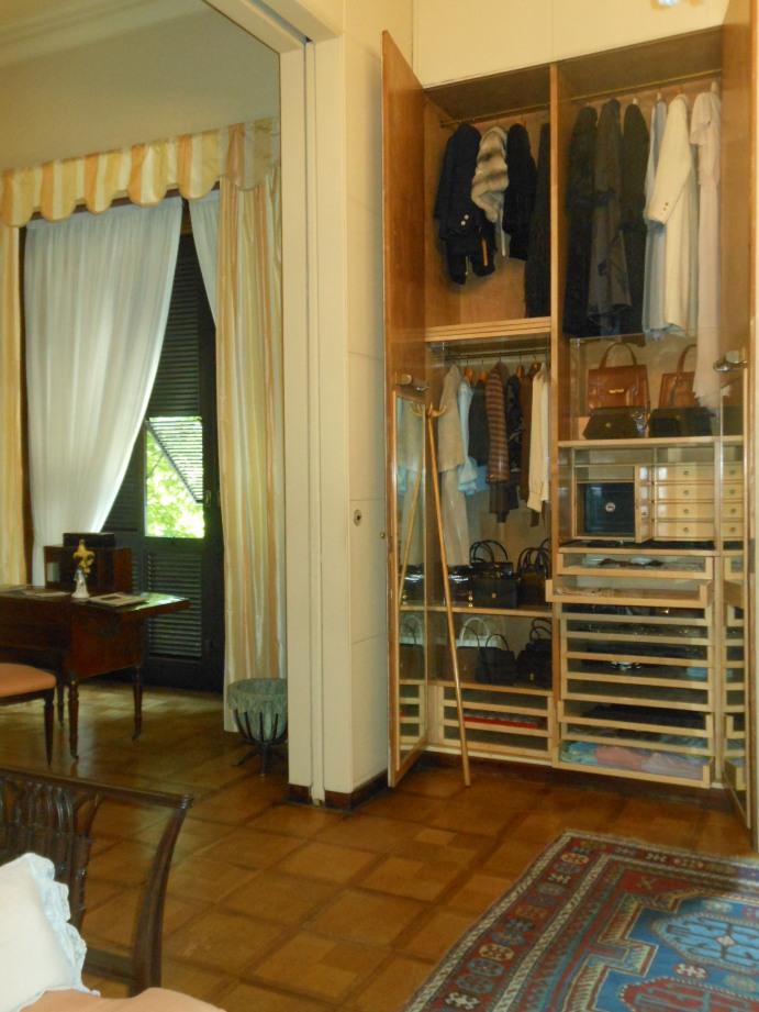 Villa Necchi, Garderobe