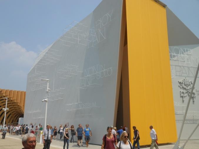 Der Pavillon des Vatikan
