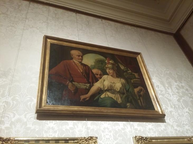 """Ein etwas rätselhaftes Bild von Canaletto """"Inclinata resurgit - Gebeugtes richtet sich auf"""""""