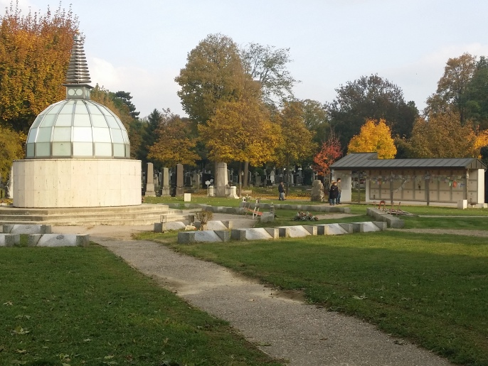 Zentralfriedhof, Buddhistischer Friedhof