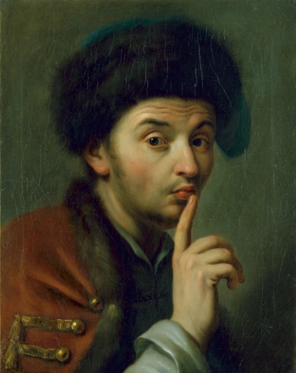 "Pietro Antonio Graf Rotari ""Mann mit Pelzmütze"""