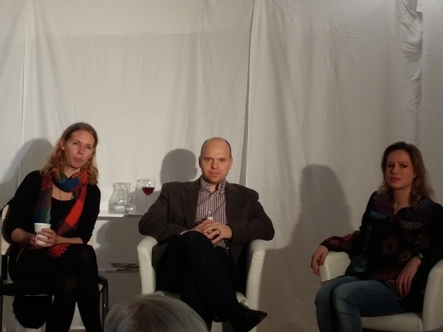 Diskussiopnsrunde mit Autorin Margarita Kinstner