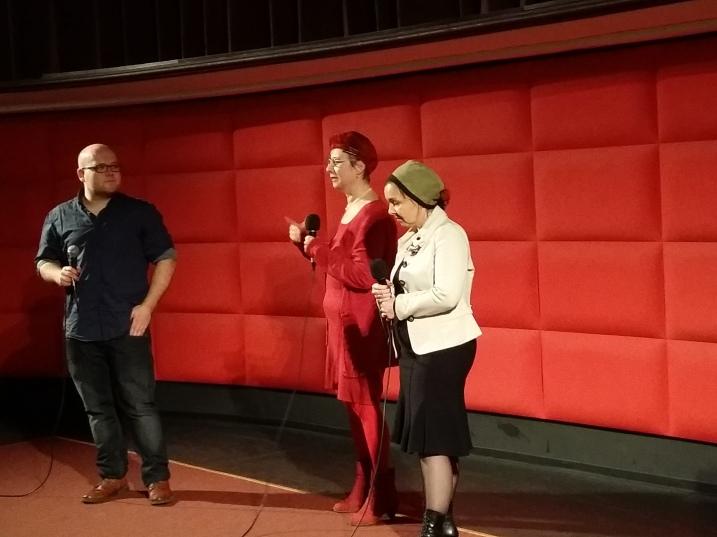 Gespräch mit Regina Liane Löw, Susanne Ayoub und Wolfgang Pillmaier (v.r.n.l.)