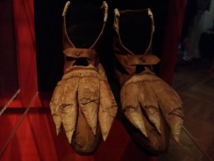 Schuhe mit stilisierten Krallen, 2. Hälfte des 18. Jahrhunderts
