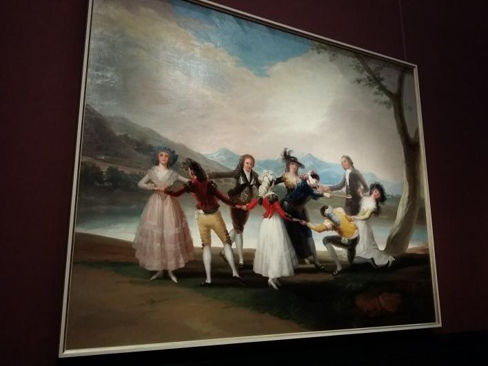 Francisco de Goya: La gallina ciega (1788) aus dem Prado