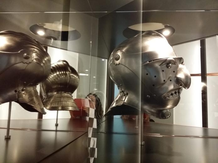Maskenvisier aus dem 16. Jahrhundert - Verbindung von Fasching und Turnier
