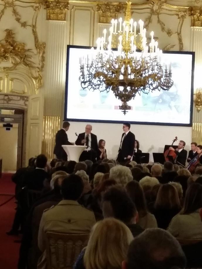 Eröffnung: Die Kuratoren Karl Vocelka und Mario Döberl