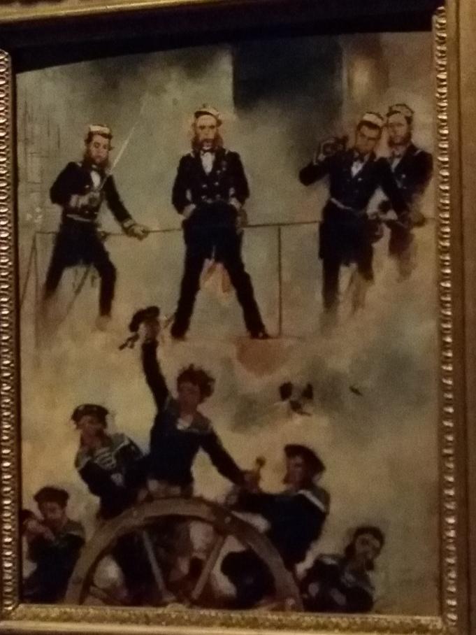 Ein österreichischer Sieg: Admiral Tegethoff in der Seeschlacht bei Lissa (Anton Romako. Wien, Belvedere)