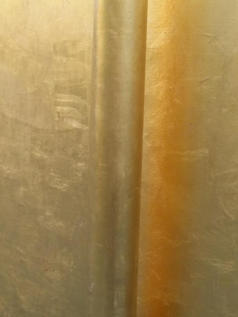 goldenes Fassadendetail