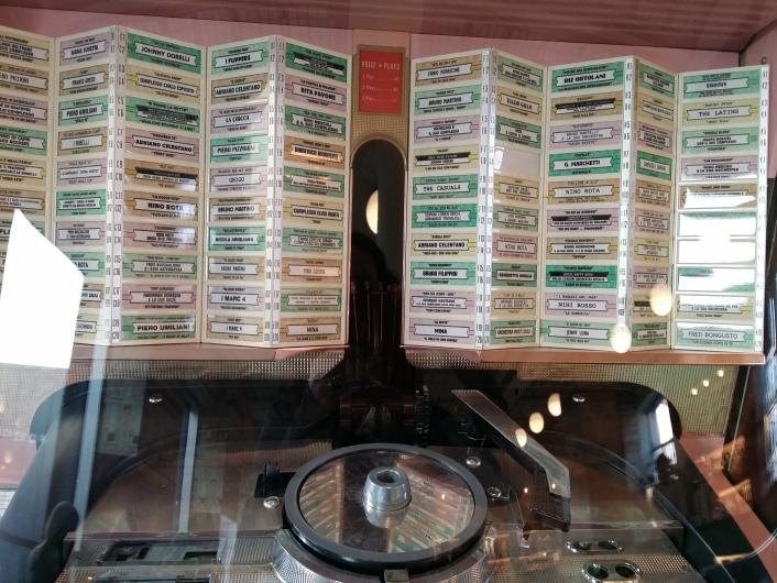 Jukebox mit italienischen Oldies