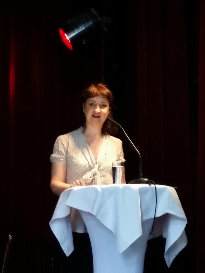 """Claudia Sabitzer liest u.a. aus """"Arthur Kahane: Tagebuch des Dramaturgen"""""""