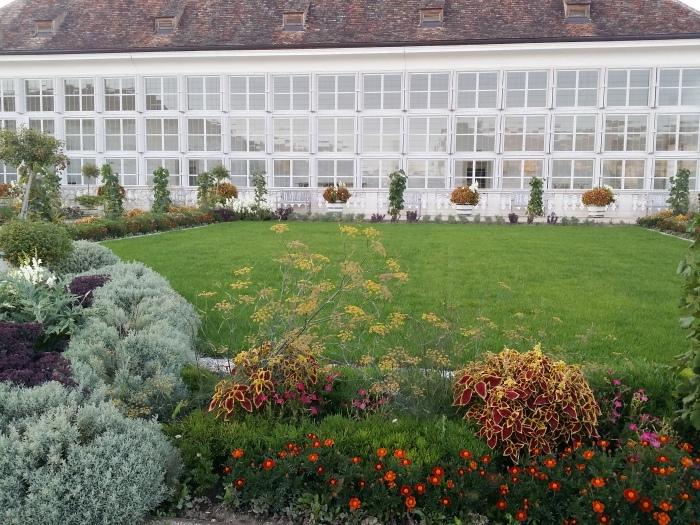 Eine der beiden Orangerien