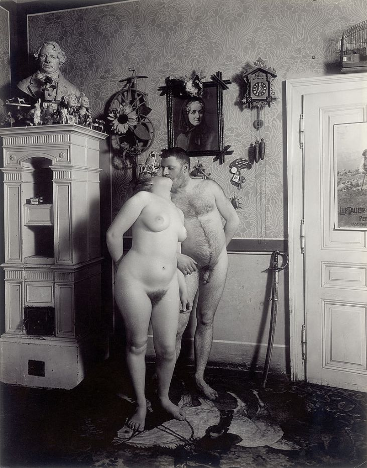 Wiener Nackedeien 1906 © Imagno/Austrian Archives