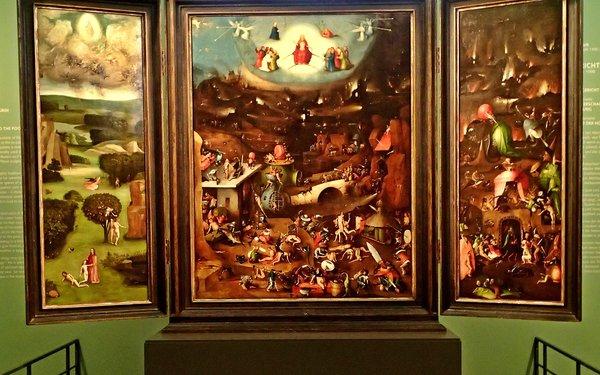 Hieronymus Bosch, Das Jüngste Gericht (Wien, Galerie der Akademie der Bildenden Künste, zw. 1504 und 1508)