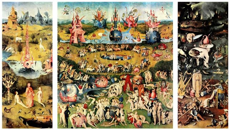 Hieronymus Bosch, Der Garten der Lüste (Madrid, Prado, zw. 1490 und 1500)