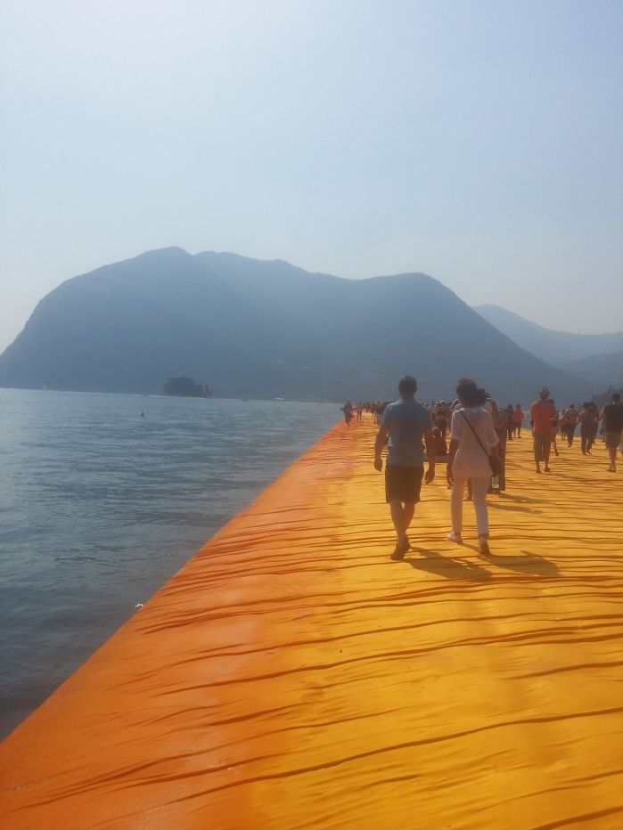 """Christos """"Floating Piers"""""""
