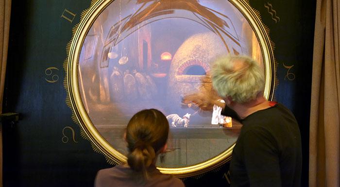 """Blick auf die """"Theaterbühne"""" © Theatermuseum"""
